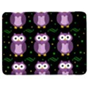 Halloween purple owls pattern Samsung Galaxy Tab 7  P1000 Flip Case View1