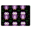 Halloween purple owls pattern Samsung Galaxy Tab 10.1  P7500 Flip Case View1