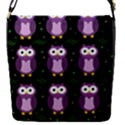 Halloween purple owls pattern Flap Covers (S)  View1