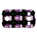Halloween purple owls pattern Samsung Galaxy S7710 Xcover 2 Hardshell Case View1