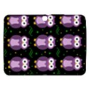 Halloween purple owls pattern Samsung Galaxy Tab 3 (10.1 ) P5200 Hardshell Case  View1