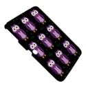 Halloween purple owls pattern Samsung Galaxy Tab 3 (10.1 ) P5200 Hardshell Case  View5
