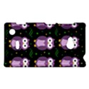 Halloween purple owls pattern Nokia Lumia 720 View1