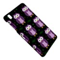 Halloween purple owls pattern Samsung Galaxy Tab Pro 8.4 Hardshell Case View4