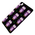 Halloween purple owls pattern Samsung Galaxy Tab Pro 8.4 Hardshell Case View5