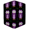 Halloween purple owls pattern iPad Mini 2 Flip Cases View3