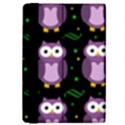 Halloween purple owls pattern iPad Mini 2 Flip Cases View4