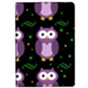Halloween purple owls pattern iPad Air Flip View1