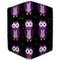 Halloween purple owls pattern iPad Air Flip View3