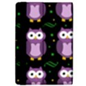 Halloween purple owls pattern iPad Air Flip View4