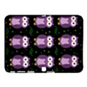 Halloween purple owls pattern Samsung Galaxy Tab 4 (10.1 ) Hardshell Case  View1