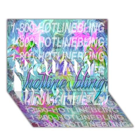 Drake 1 800 Hotline Bling YOU ARE INVITED 3D Greeting Card (7x5)