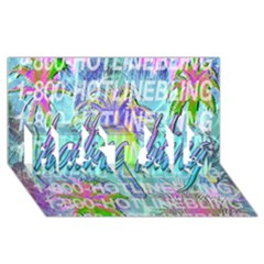 Drake 1 800 Hotline Bling BEST SIS 3D Greeting Card (8x4)