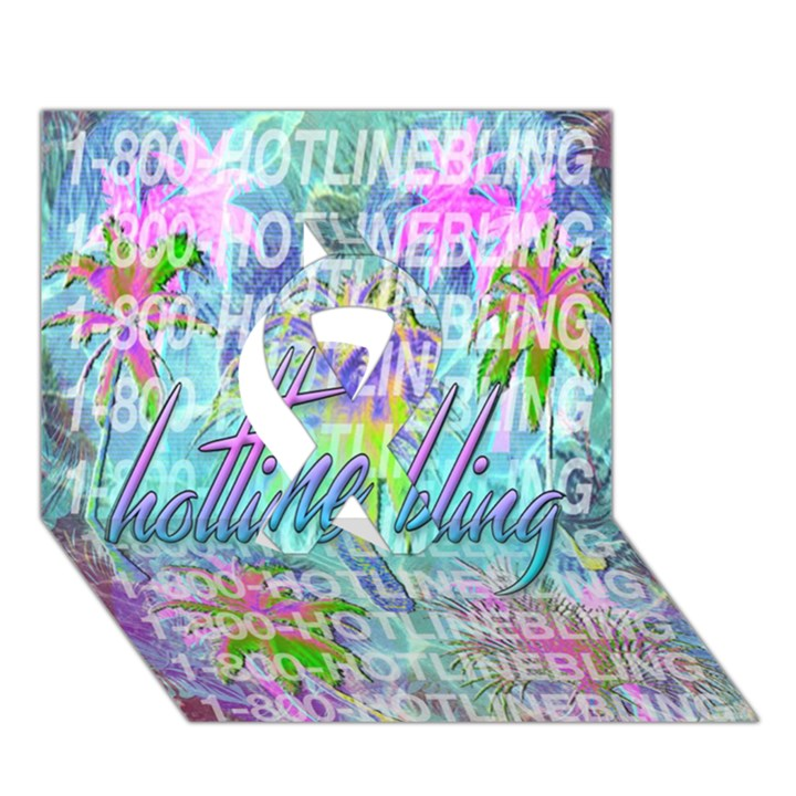 Drake 1 800 Hotline Bling Ribbon 3D Greeting Card (7x5)