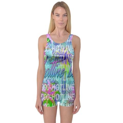Drake 1 800 Hotline Bling One Piece Boyleg Swimsuit