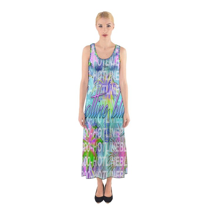 Drake 1 800 Hotline Bling Sleeveless Maxi Dress