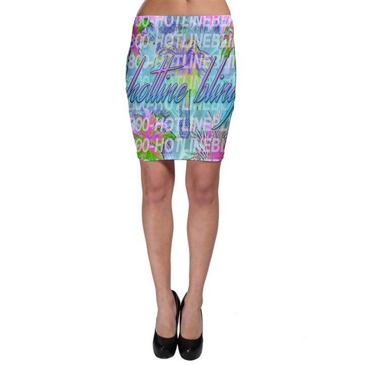 Drake 1 800 Hotline Bling Bodycon Skirt