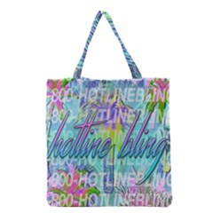 Drake 1 800 Hotline Bling Grocery Tote Bag