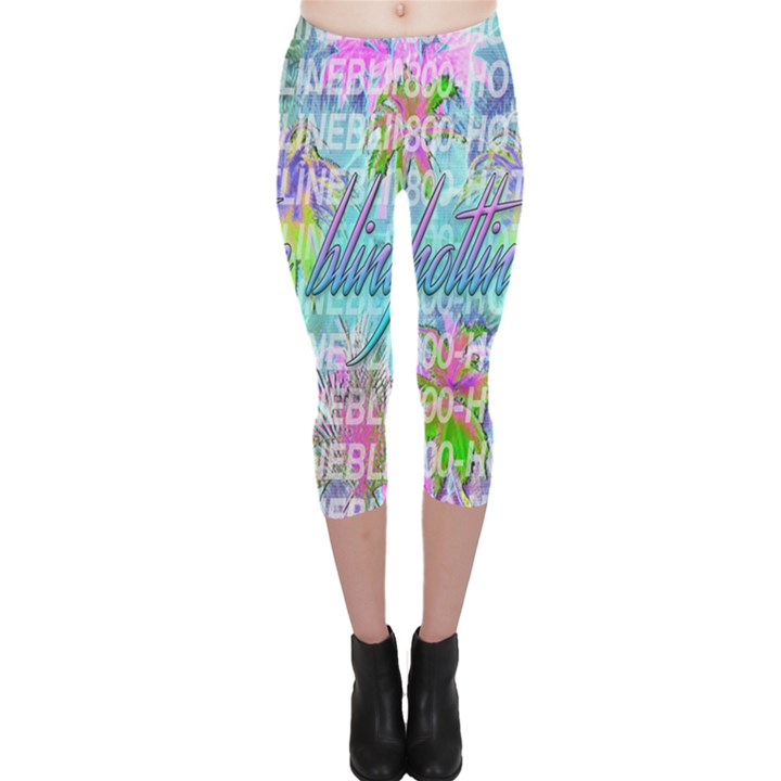 Drake 1 800 Hotline Bling Capri Leggings
