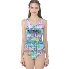 Drake 1 800 Hotline Bling One Piece Swimsuit