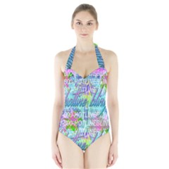 Drake 1 800 Hotline Bling Halter Swimsuit