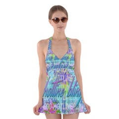 Drake 1 800 Hotline Bling Halter Swimsuit Dress