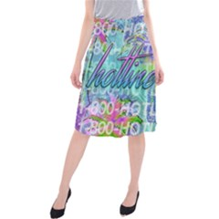 Drake 1 800 Hotline Bling Midi Beach Skirt