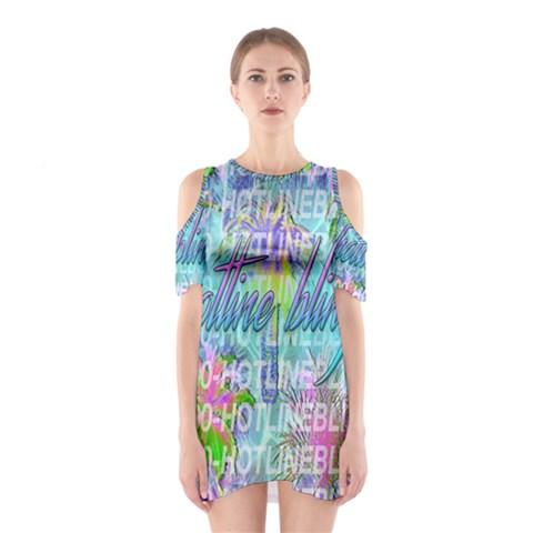 Drake 1 800 Hotline Bling Cutout Shoulder Dress