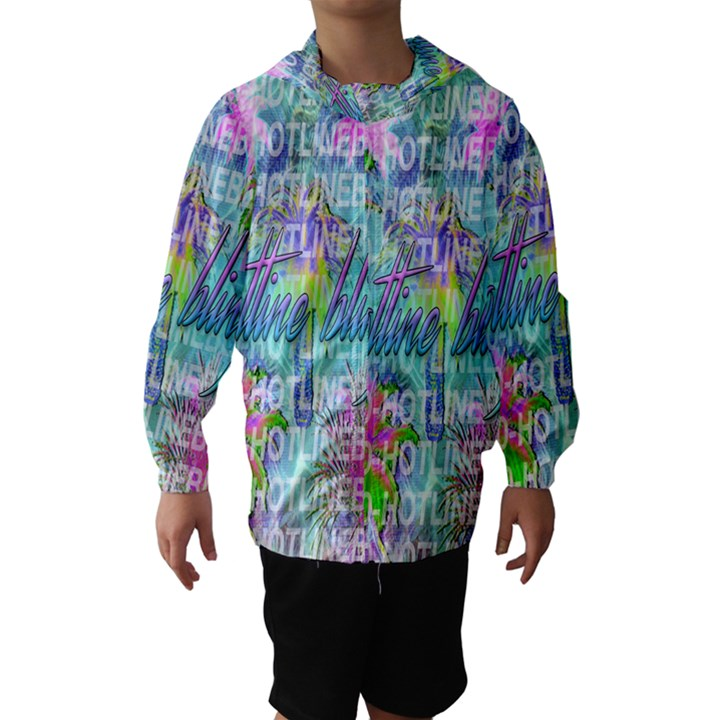 Drake 1 800 Hotline Bling Hooded Wind Breaker (Kids)