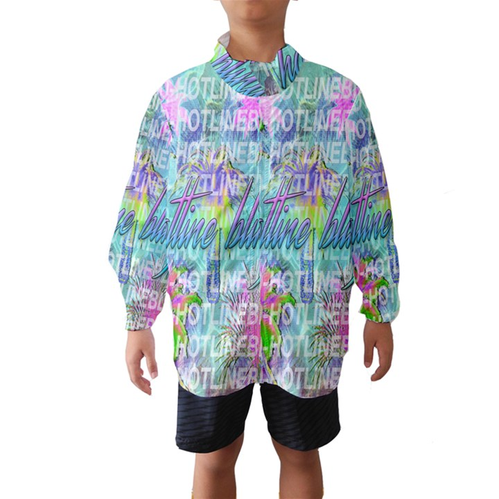 Drake 1 800 Hotline Bling Wind Breaker (Kids)
