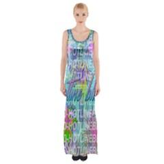 Drake 1 800 Hotline Bling Maxi Thigh Split Dress