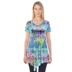 Drake 1 800 Hotline Bling Short Sleeve Tunic