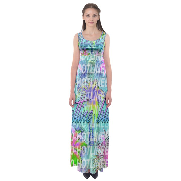 Drake 1 800 Hotline Bling Empire Waist Maxi Dress