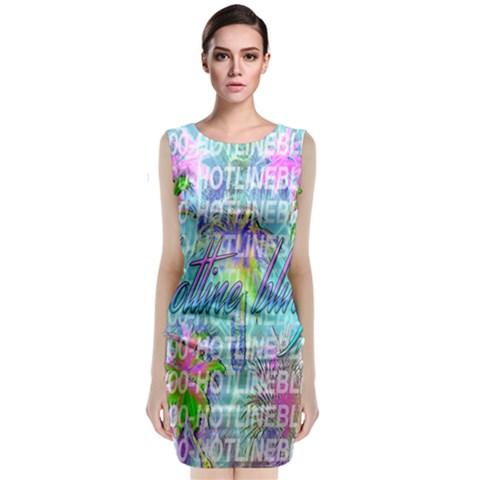 Drake 1 800 Hotline Bling Classic Sleeveless Midi Dress