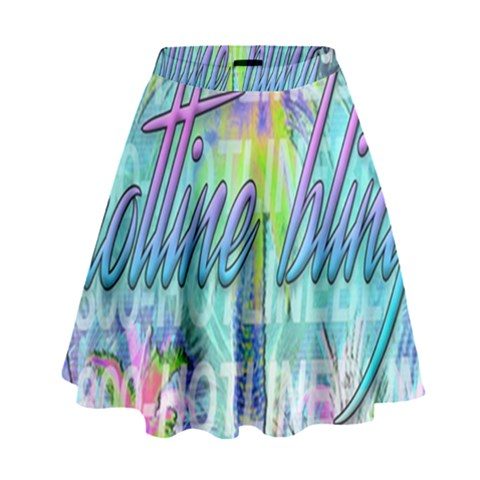 Drake 1 800 Hotline Bling High Waist Skirt