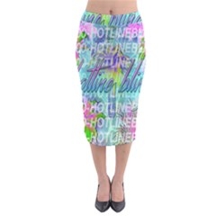 Drake 1 800 Hotline Bling Midi Pencil Skirt