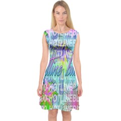 Drake 1 800 Hotline Bling Capsleeve Midi Dress