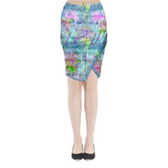 Drake 1 800 Hotline Bling Midi Wrap Pencil Skirt