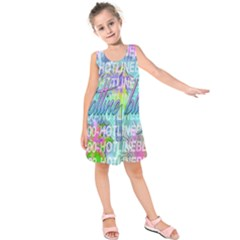 Drake 1 800 Hotline Bling Kids  Sleeveless Dress