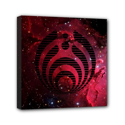 Bassnectar Galaxy Nebula Mini Canvas 6  x 6