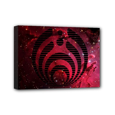 Bassnectar Galaxy Nebula Mini Canvas 7  X 5