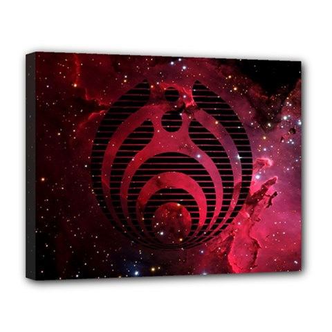 Bassnectar Galaxy Nebula Canvas 14  x 11