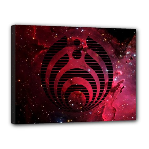 Bassnectar Galaxy Nebula Canvas 16  x 12