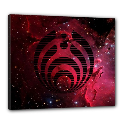 Bassnectar Galaxy Nebula Canvas 24  x 20