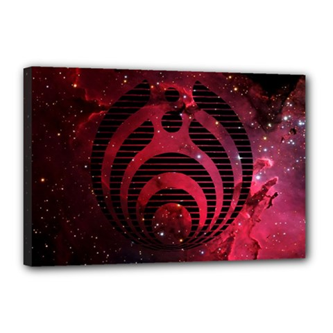 Bassnectar Galaxy Nebula Canvas 18  x 12
