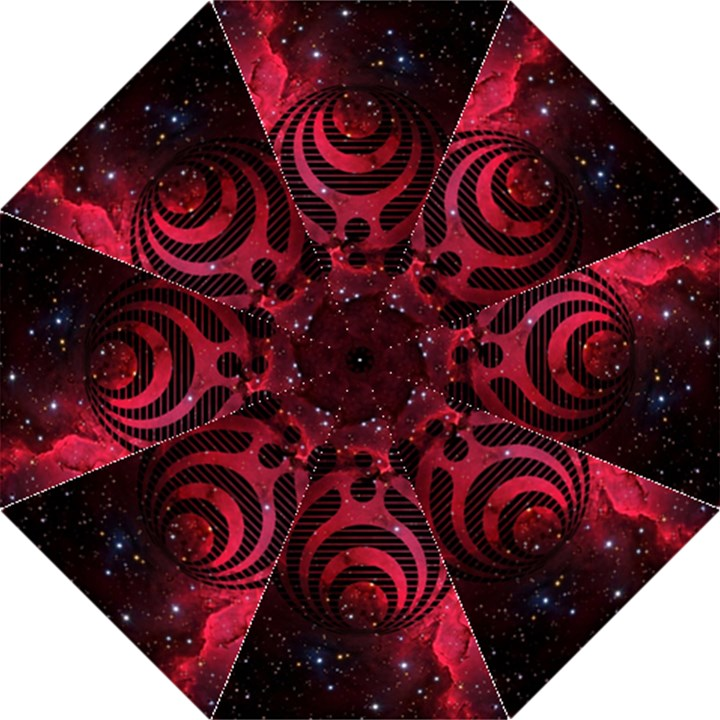 Bassnectar Galaxy Nebula Golf Umbrellas