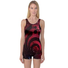 Bassnectar Galaxy Nebula One Piece Boyleg Swimsuit