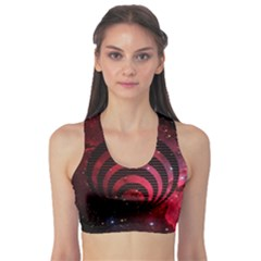 Bassnectar Galaxy Nebula Sports Bra