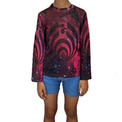 Bassnectar Galaxy Nebula Kids  Long Sleeve Swimwear