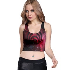 Bassnectar Galaxy Nebula Racer Back Crop Top